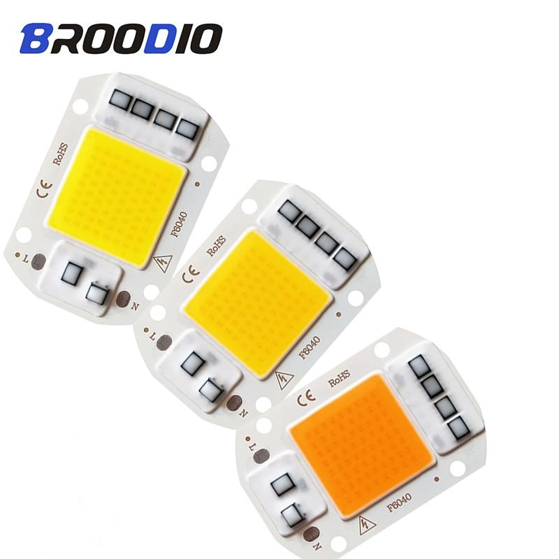 Led-Lamp-Bulb Lampada-Spotlight Smart Ic Warm White Full-Spectrum 220V 110V DIY Grow