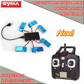 Free Shipping!6x 800mAh Battery+6in1 Charger+Transmitter Remote Control For SYMA X5C X5SW X5SC