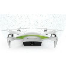 New Alpha CAM WiFi FPV Mini Flexible Selfie Drone With 4K HD Camera GPS RC Quadcopter