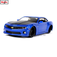 цена на Maisto 1:24 2010 Chevrolet Camaro SS simulation alloy car model crafts decoration collection toy tools gift