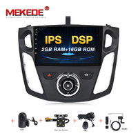 MEKEDE PX30 2+16G Android 9.0 Car DVD Player GPS Navi For Ford Focus 2012 2017 Mirror Link Bluetooth Big Screen Car Radio