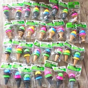 Image 4 - 48 adet/grup sevimli dondurma 3D kauçuk silgi çocuklar için güzel yaratıcı kırtasiye hediye ürün çocuk ofis okul malzemeleri