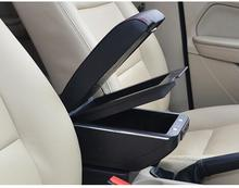 Lifan 320 автомобиля подлокотник коробка для хранения центральный подлокотник, без сверления в установке + 7USB интерфейс Бесплатная доставка