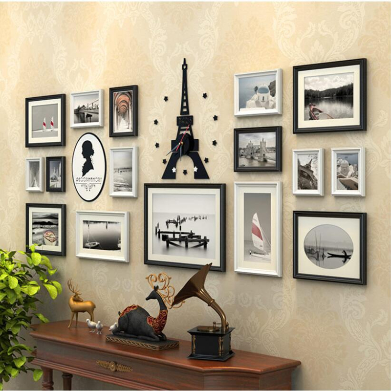 Wall Picture Frame Sets popular picture frames wall set-buy cheap picture frames wall set