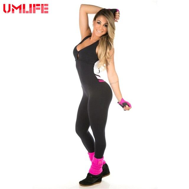 19feb4634a7e2 UMLIFE Vestiti Allenamento Abbigliamento Sportivo Per Le Donne Corsa e  Jogging Vestito di Forma Fisica Delle Donne di Yoga Palestra Set ...