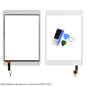 New White 7.9 inch Touch Screen Lens for Acer Iconia A1-830 A1 830 Tablet Digitizer Sensor Replacement Free Shipping