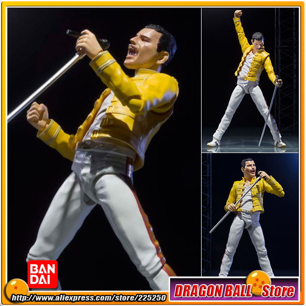 Live at wembley stadium Original BANDAI Tamashii Nations S.H.Figuarts / SHF Action Figure - Freddie Mercury bad company live at wembley blu ray