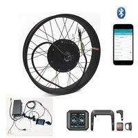 TFT дисплей системы 5000 Вт электрический жира велосипед conversion kit sabvoton контроллер 100 км/ч/ч Максимальная скорость