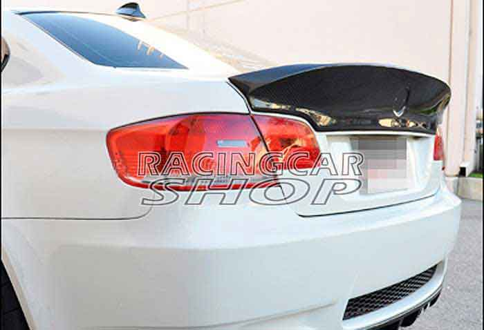 CSL STYLE ADD ON CARBON FIBER TRUNK SPOILER FOR BMW E92 3-SERIES 2D Coupe M3 330i 335i 328i 07-13 2007 bmw x5 spoiler