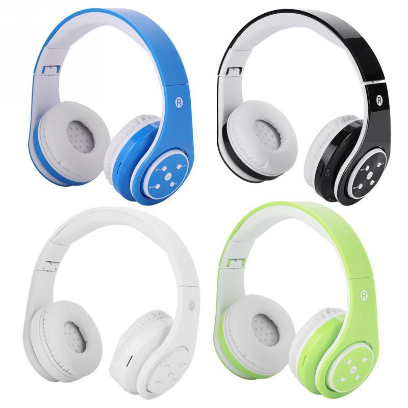 VBESTLIFE Portable Wireless Earphones with Card Plugin Folding Bluetooth Headmounted Headset Stereo Headphones fone de ouvido