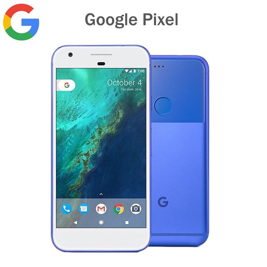 Original EU Version Google Pixel 4G Mobile Phone 5.0inch 4GB RAM 32GB/128GB ROM Snapdragon821 Quad Core Android Smart Phone NFC