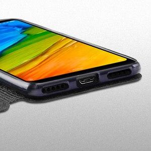 Image 5 - Para Xiaomi Redmi 5 Plus capa case Para Xiaomi Redmi 5 capa caso de silicone de luxo bolsa em couro flip original Mofi Xiomi Redmi 5 Plus capa 360 rígido fundas