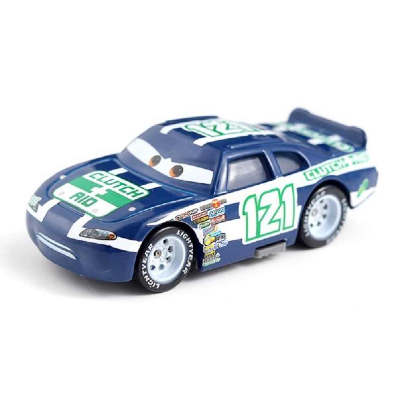 Disney Pixar Cars 2 3 No 121 Kopling Bantuan MACK Paman Truk Mainan Mobil Longgar 1:55 Baru Di Saham Mainan mobil Hadiah untuk Anak-anak Anak