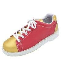 Professional Bowling Shoes Women Soft Footwear Classic Women Sneakers Light Male Shoe Size Eu 32 40 AA10084
