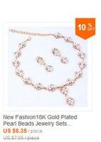 20156новая мода 18 к позолоченные ювелирные изделия устанавливает красный фиолетовый австрийский кристалл цветочные украшения для женщин подарок партии a1023