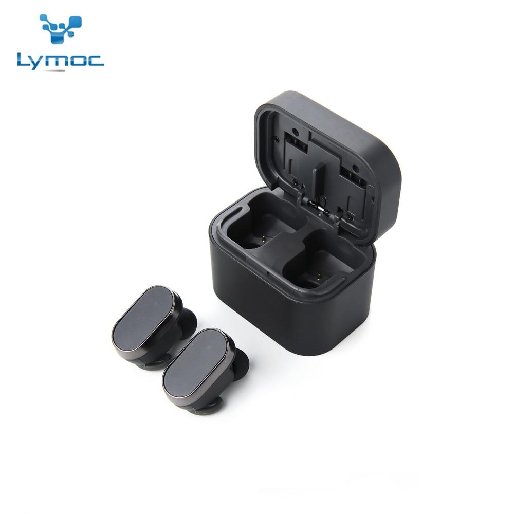 LYMOC HY7 Sans Fil Écouteur V5.0 Bluetooth Casques HiFi TWS Mini Écouteurs Étanche HD Mic Mains Libres pour iPhone Android Téléphones