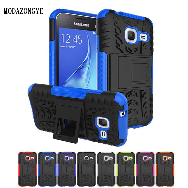 <font><b>2016</b></font> Luxury Armor Hybrid TPU Silicone +Hard Protective Case For <font><b>Samsung</b></font> <font><b>Galaxy</b></font> <font><b>J1</b></font> <font><b>Mini</b></font> J105 <font><b>J105H</b></font> J105F <font><b>SM</b></font>-<font><b>J105H</b></font> Duos Back Cover image