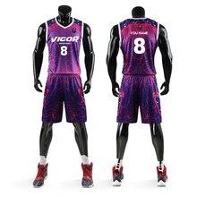 Мужской женский баскетбольный трикотажный набор, форма, дышащий спортивный комплект для баскетбола, майки, рубашки, шорты, быстросохнущие, на заказ