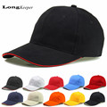 LongKeeper Wholesale Caps Women Men Blank Baseball Cap Net Hats Unisex Adult Hat Casual Peaked Hat Solid Visors 10pcs/lot