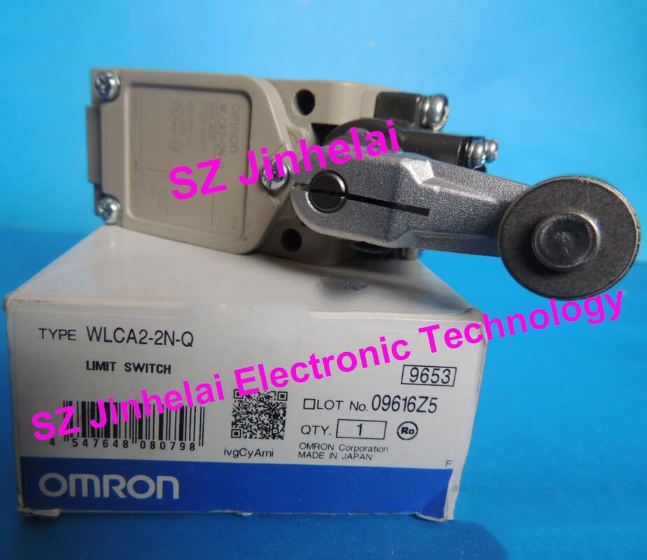 Authentic original OMRON LIMIT SWITCH WLCA2-2N-Q authentic original omron limit switch d4c 1220