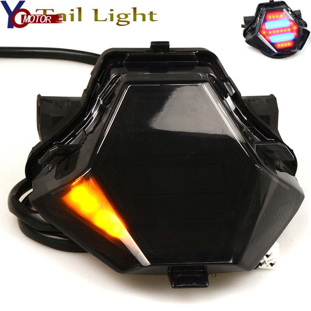 NEW Motorcycle Light Integrated LED Tail Light Turn signal Blinker For YAMAHA MT-07 MT-25 MT-03 YZF R25 R3 FZ07 2014 -2016 2017 цена