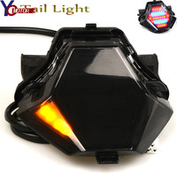 NEW Motorcycle Light Integrated LED Tail Light Turn signal Blinker For YAMAHA MT 07 MT 25 MT 03 YZF R25 R3 FZ07 2014 2016 2017