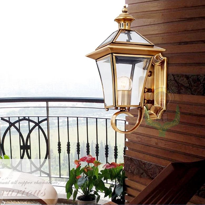 2014new luxury porch aczoiling outdoor lighting bronze ...