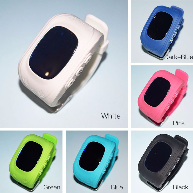 GPS Smart Kid Safe Watch SOS Call Location Finder Locator Tracker for Child Anti Lost Monitor