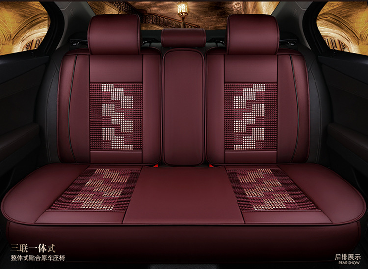 car seat covers cushion leather set pu mats pad for Citroen QUATRE Triomphe elysee Picasso C2 C4 C5 C4L free shipping hot sale in Automobiles Seat Covers from Automobiles Motorcycles