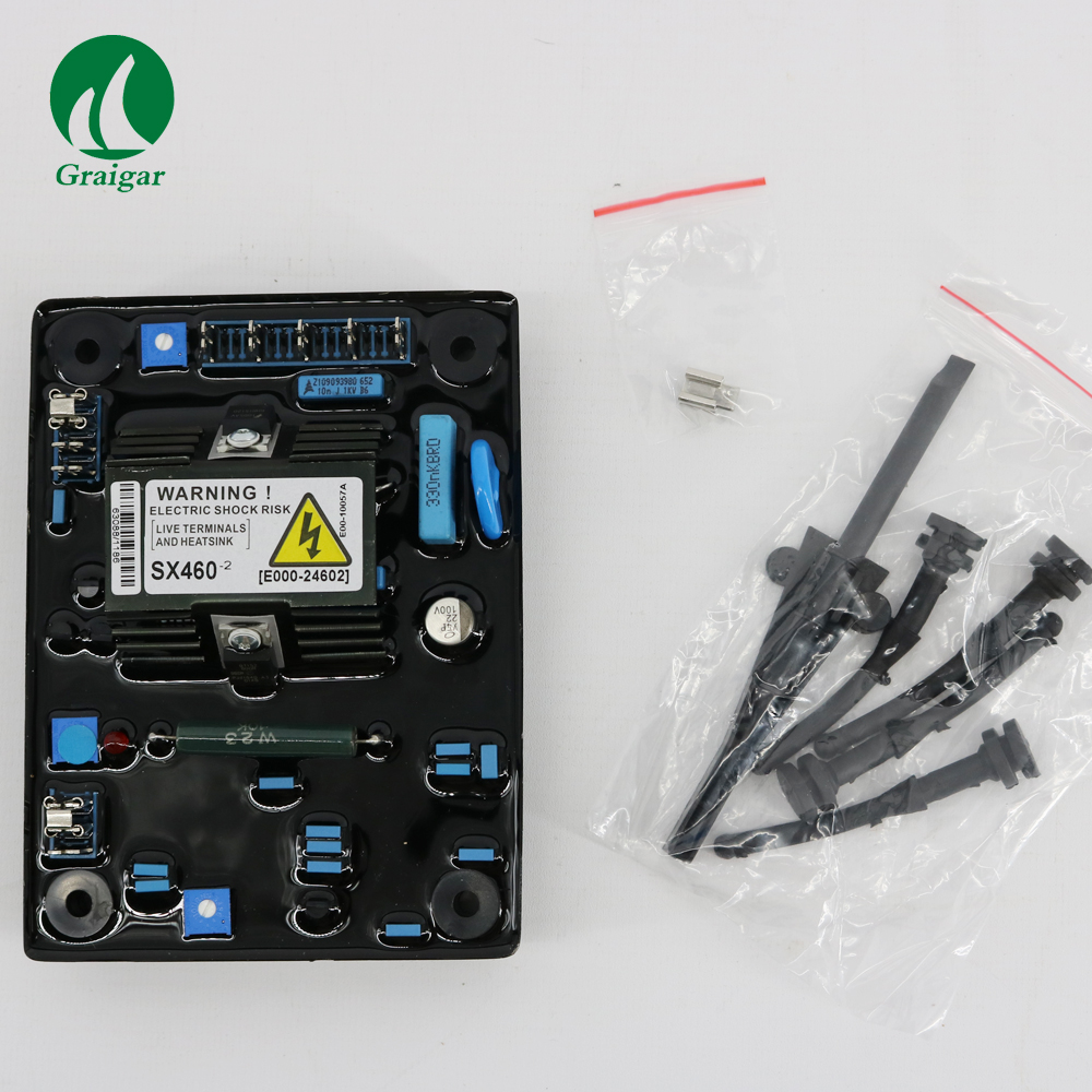 New Automatic Voltage Regulator Control Moudle AVR SX460 for Generator 2pcs lot automatic voltage regulator avr sx460 for generator 12972 and r230