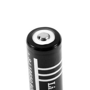 Image 2 - 10 יח\חבילה באיכות גבוהה ליתיום Li יון נטענת סוללה 18650 סוללות 3.7 V 6000 mAh עבור פנס לפיד משלוח חינם