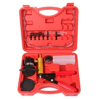High Quality Car Auto Hand Held Dedicated Vacuum Pump Brake Bleeder Adaptor Fluid Reservoir Test Equipment Kits
