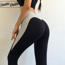 Women Yoga Pants Fitness Tights Sport Leggings Patchwork Workout Pants Seamless Legging Running Athletic Leggin Gym Sport Wear