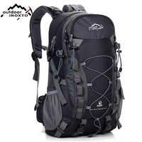 Mochila de senderismo mochilas de 40 L mochila impermeable para hombres mochila de Camping al aire libre bolsas de gimnasio bolsa de viaje bolsas de deporte grandes para mujeres