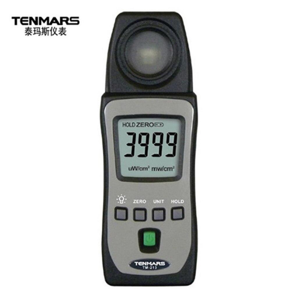 Tenmars TM-213 Pocket Size UV UVA UVB UVAB Ultra Violet Light Level Meter 290nm ~ 390nm цены