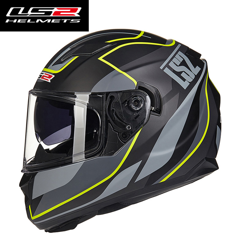 LS2 ff328 full face motorcycle helmet for man woman with sun shield lens Racing motorbike helmet DOT approve LS2 moto Capacete аксессуар защитное стекло для huawei honor 9 lite mobius 3d full cover black 4232 154