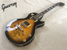 Electric guitar Gwarem lp standardslash/burst color/guitar in china