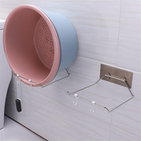 Washbasin Storage Rack Bathroom Kitchen Towel Holder Suction Cup Hooks Hanger Dropshipping Apr25