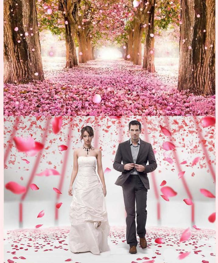 2000 шт шелк вечные искусственные лепестки роз цветок свадебный пользу свадебный душ ваза в проход Декор Конфетти Свадебные вечерние Декор