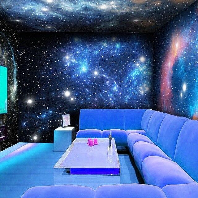 Individuelle fototapeten 3D Sterne themen Bar großes