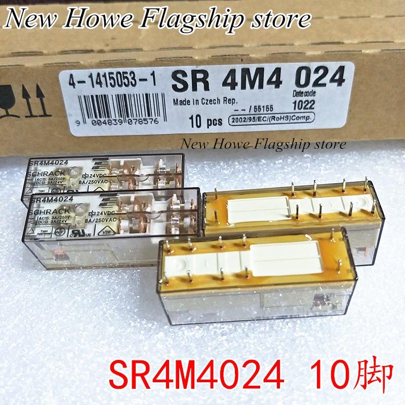 New and original SR4M4024 24VDC 10PIN SR 4M4 024 sr 1 ponytails130g 24 60 mutlicolor p001