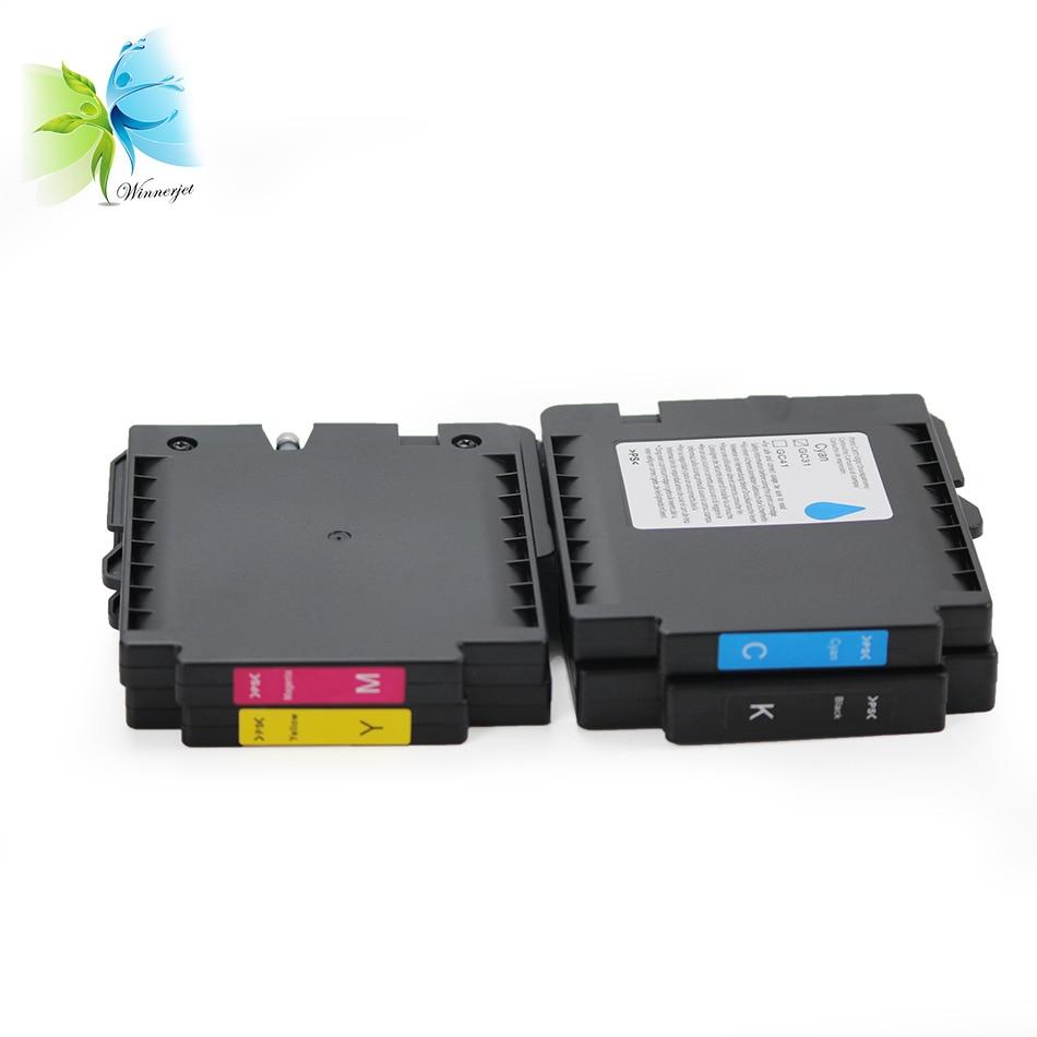 Sublimation GC31 KMYC Ink Cartridge for Ricoh GXe2600//e3300//e3350N//e5050N//e7700