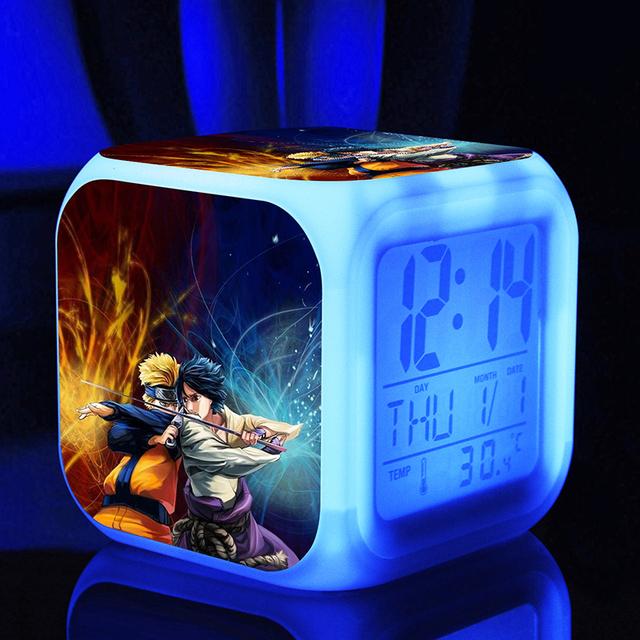 Naruto Digital Clock
