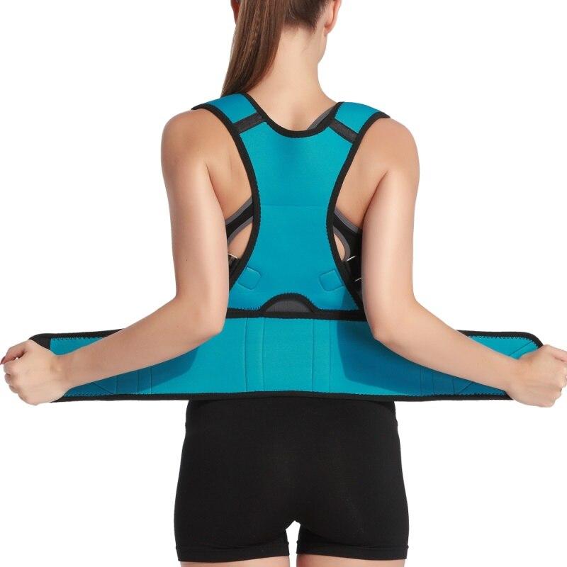 Elasticity Posture Support Shoulder Body Back Brace& Supports For Men Women Magic Stick Posture Corrector Belt Body Posture