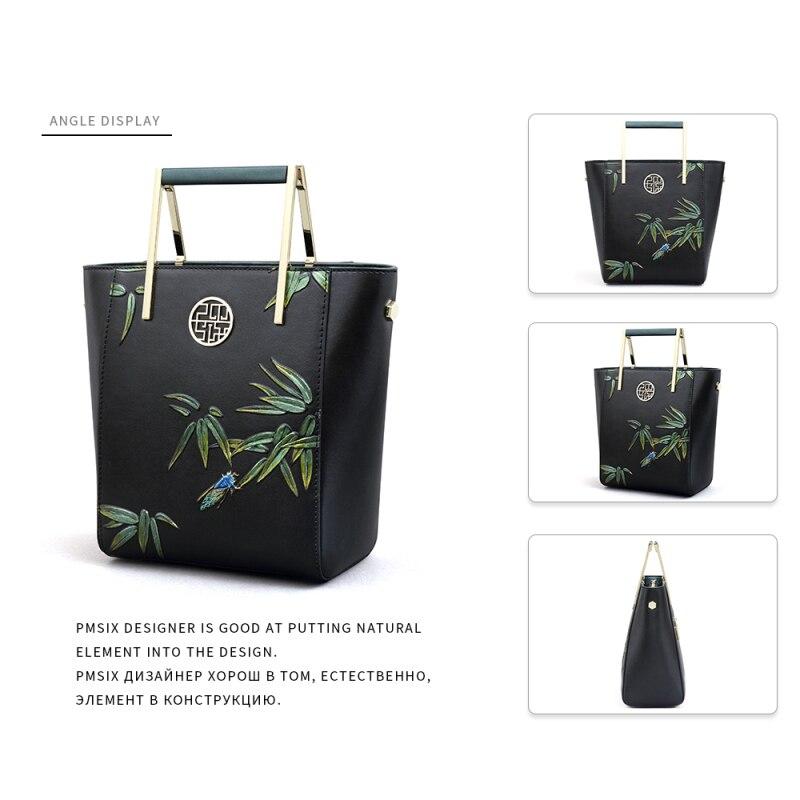 PMSIX Lüks bayanlar çanta sert Dana kadın çantası Yeni Moda - Çanta - Fotoğraf 3