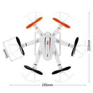 Image 5 - Faltbare drone WiFi UAV Sechs achse fernbedienung Mini flugzeug Tragbare 2 millionen HD Kamera Gyroskop Mit Beleuchtung