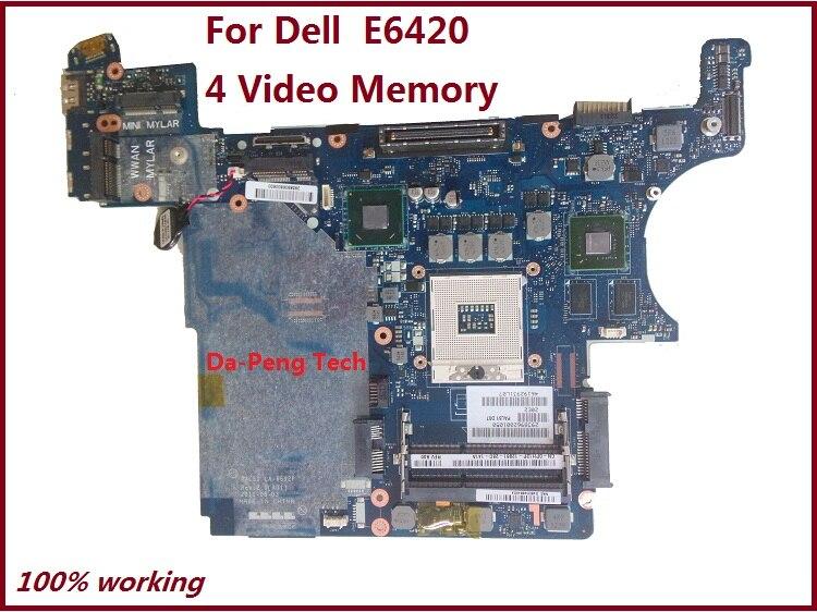 KEFU PH12P 0PH12P CN 0PH12P の Dell Latitude E6420 メインボード PAL51 LA 6592P 4 ビデオメモリ完全にテスト  グループ上の パソコン & オフィス からの マザーボード の中 1