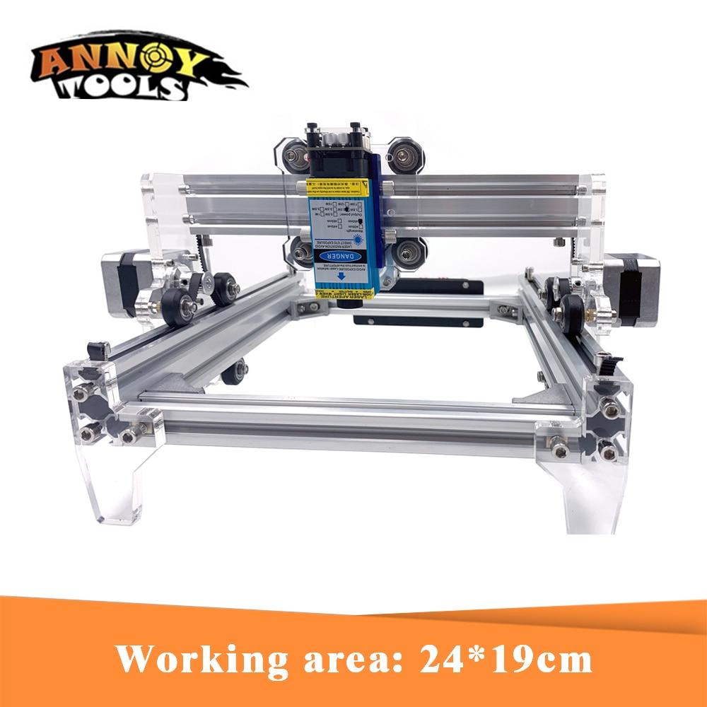 Machine de gravure Laser 15 W L5 bricolage, Machine de marquage en métal 15000 MW, Machine à découper en métal, routeur en bois de jouets avancés