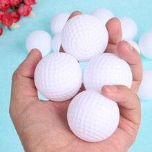 12 шт., 6 шт., мяч для гольфа, пластиковый, выдолбленный, для спортивных тренировок, для тенниса, белый, Круглый, для тренировок, аксессуары для гольфа, для игр на открытом воздухе