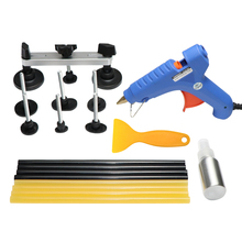 PDR Tool To Remove Dents Paintless Dent Repair Puller Kit Auto Tools Pulling Bridge Glue Sticks